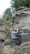 Rock Climbing Photo: Seth on start