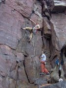 Rock Climbing Photo: Sometimes Right. Does one guidebook calls this som...
