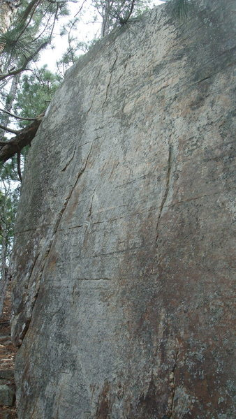 Rock Climbing Photo: center line