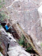 Rock Climbing Photo: The Heist V12, a relatively new hb problem (Jorgen...