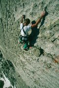 Rock Climbing Photo: the Answer 5.8 QuestionMark Wall.  Photo: Eric Dra...