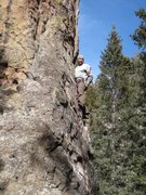 Rock Climbing Photo: Enjoying Little Viking on an early spring day. 200...