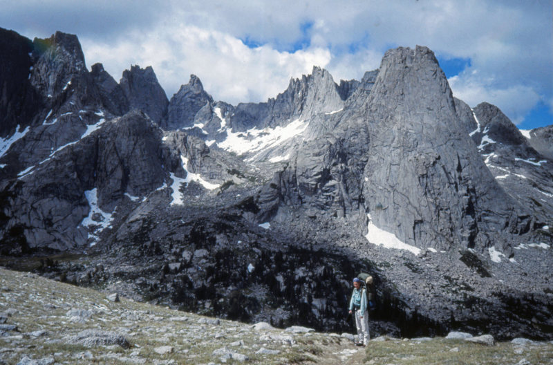 Rock Climbing Photo: The Cirque of the Towers from Jackson Pass. Wind R...