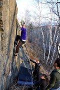 Rock Climbing Photo: DFJ, Photo credit Pete Lande