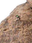 Rock Climbing Photo: Chris V. climbing Suburbia at Shelf Road
