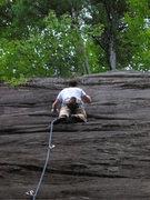 Rock Climbing Photo: Lincoln Tetherly on Joy Ride 5.9-