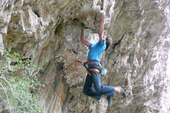 Rock Climbing Photo: Bad beta!