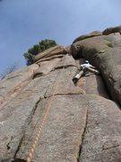 Rock Climbing Photo: climbing at turkey rocks