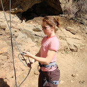 Rock Climbing Photo: Tying in