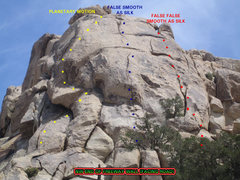 Rock Climbing Photo: Northwest End of Freeway Wall (facing dirt road)