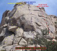 Rock Climbing Photo: NW End of Freeway Wall