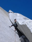 Rock Climbing Photo: Great White Book, Tuolumne.
