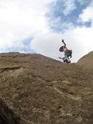 Rock Climbing Photo: Look Ma, no Hands!