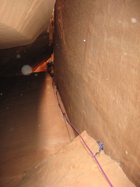 Rock Climbing Photo: Cave route getting extra credit for the 'kewl' fac...