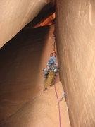 Rock Climbing Photo: This may be bird shit ledge?
