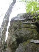 Rock Climbing Photo: left arete 5.9