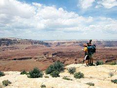 Rock Climbing Photo: canyoneering, anyone?  and we are where?