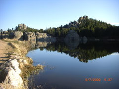 Rock Climbing Photo: silvan lake