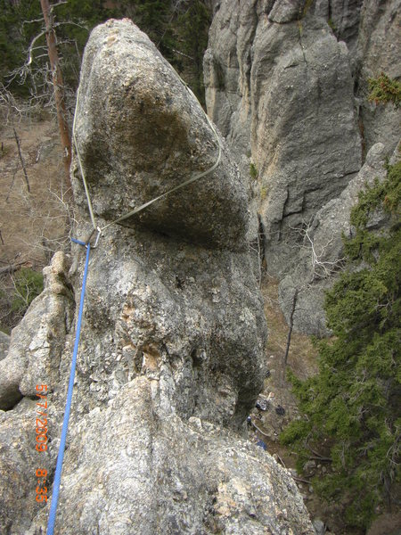 Rock Climbing Photo: The horn