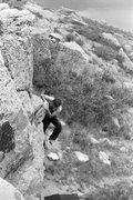 Rock Climbing Photo: @ Carter, pic by Foldsi