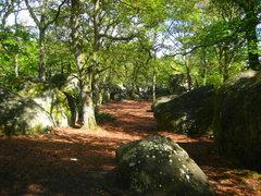 Rock Climbing Photo: Font scenery