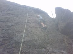 Rock Climbing Photo: WITH SCOTT IN DOGWOOD AREA LITTLE COTTONWOOOD