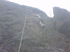 Rock Climbing Photo: WITH SCOTT IN DOGWOOD AREA LITTLE COTTONWOOOD
