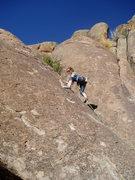 Rock Climbing Photo: The Mrs. on Mr. B.