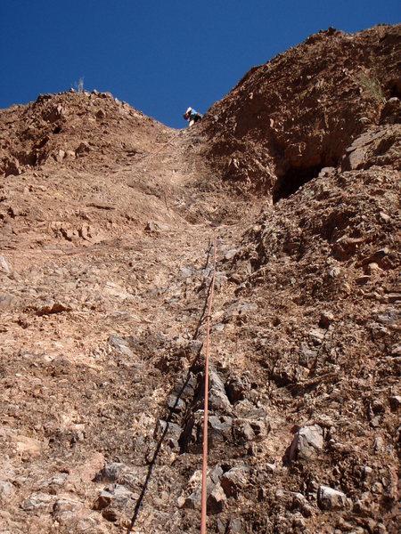 Rock Climbing Photo: Sleazy Street 5.7