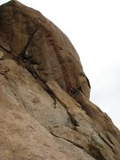 Rock Climbing Photo: The rappel requires 2-60m ropes.  One small 30' se...