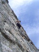 Rock Climbing Photo: Wikswo at the start.