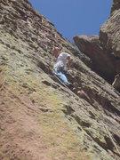 Rock Climbing Photo: Starting this amazing climb.
