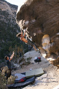 Rock Climbing Photo: israel from british columbia making it look easy.