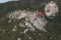 Rock Climbing Photo: Shot from Fingertrip. I noticed the climbers above...