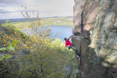 Rock Climbing Photo: Son of the Great Chimney. Isaac Therneau. May 10 '...