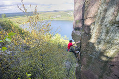 Rock Climbing Photo: Son of the Great Chimney. Isaac Therneau. Yet anot...