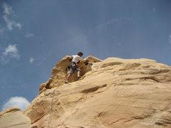 Rock Climbing Photo: Last bit onto the true summit