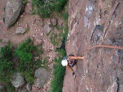 Rock Climbing Photo: Eldo w/ a broken hand