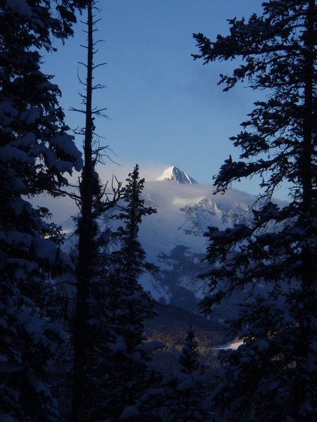 Wilson Peak, the Coors mountain