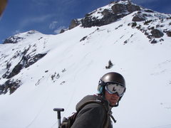 Rock Climbing Photo: Scott with our lines in Bear Creek.  A five minute...