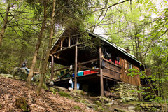 Rock Climbing Photo: Photo of the Hermitage cabin, 100 yards from the c...