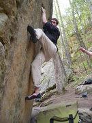 Rock Climbing Photo: Paul C. getting it