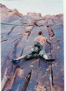 Rock Climbing Photo: Proving once again there's no such thing as a good...