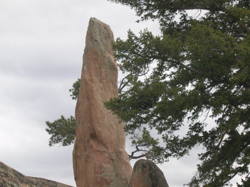 The legendary Quinessential Pinnacle, also known as Penis Rock.