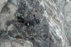 Rock Climbing Photo: Hey, Kelly...what'cha doin'? Oh...just hangin' aro...