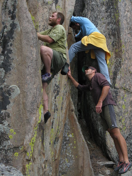 Rock Climbing Photo: Nemo