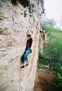 Rock Climbing Photo: Hitting the final crimps.