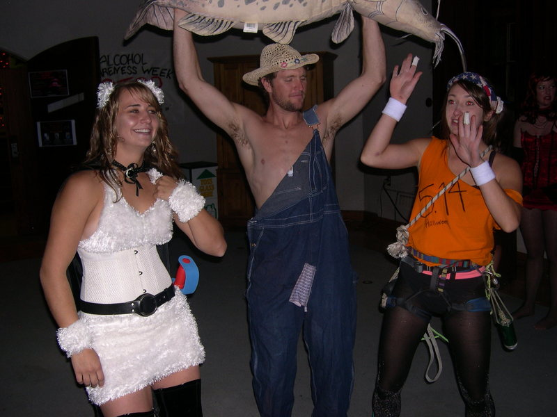 We still 'get wild' in Gunnison in 2009, especially on Halloween.