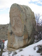 Rock Climbing Photo: An boulder we refer to as Duffy's Aretes, because ...