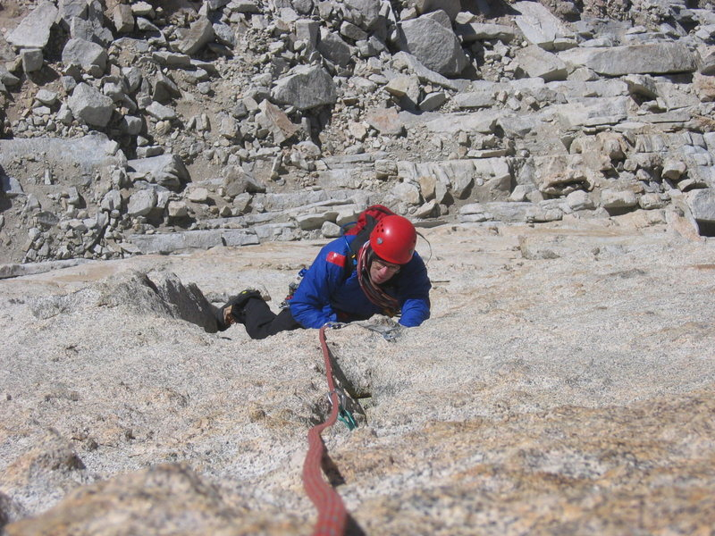 Eric following Pitch 1